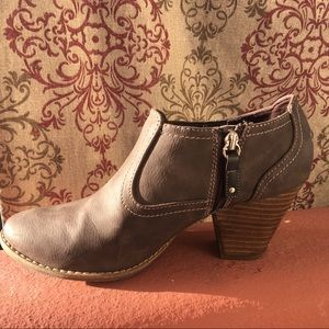 Dr.Scholl's Ankle Brown Boots